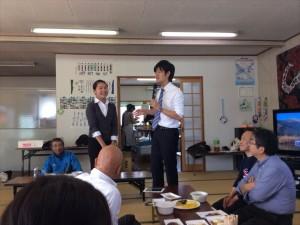 鈴木衆議院議員から紹介されるMay